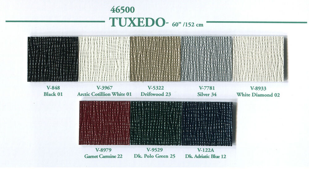 Tuxedo Roof Cover Vinyl Material 8 Different Colors Ebay