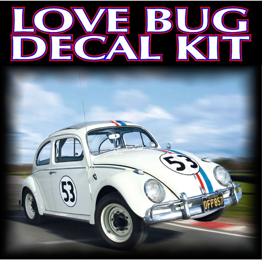 Exact Herbie Quot The Love Bug Quot Vehicle Reproduction Graphic