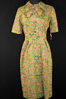 RARE 1950'S DEADSTOCK FLORAL  COTTON DRESS SIZE 6