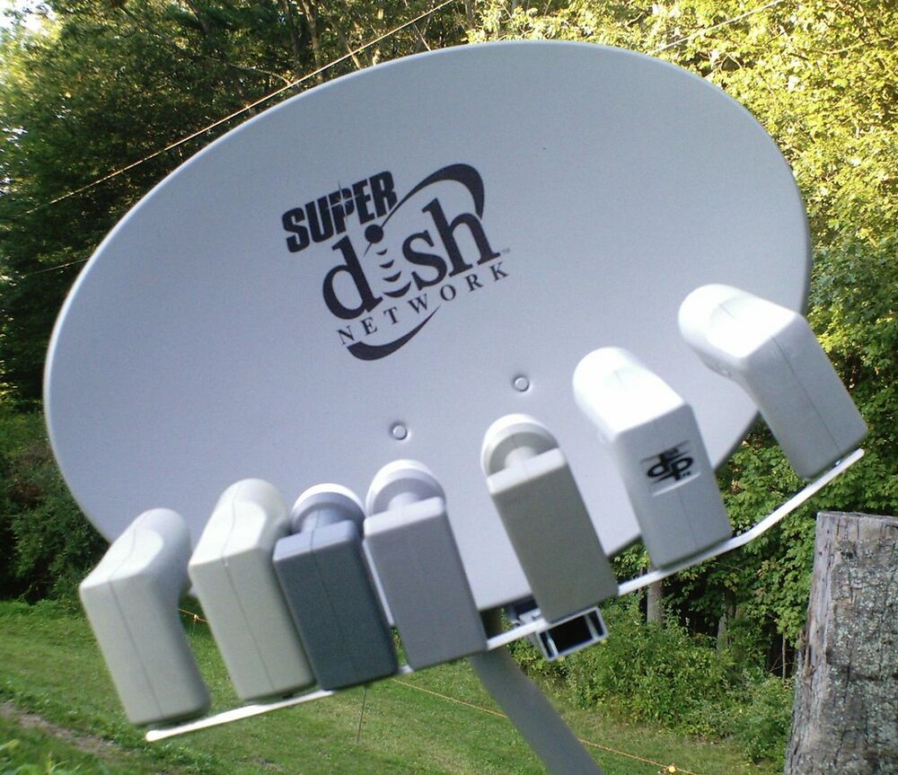 Superdish Lnb Bracket 8 Satellites On 1 Super Dish Fta Ebay