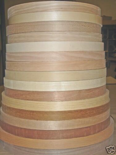 Wood Veneer Edgebanding Ash Birch Cherry Maple Red Oak 7 8