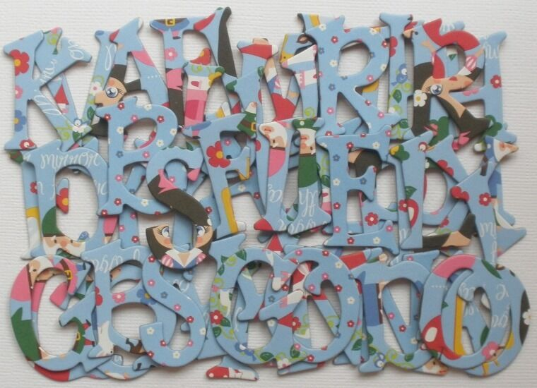 Reminisce snow white scrapbook embellishment chipboard for Where to buy chipboard letters