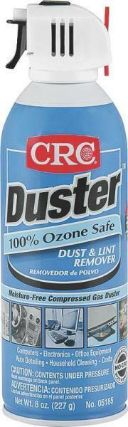 new lot of 6 crc 8oz duster aersol canned air spray lint. Black Bedroom Furniture Sets. Home Design Ideas