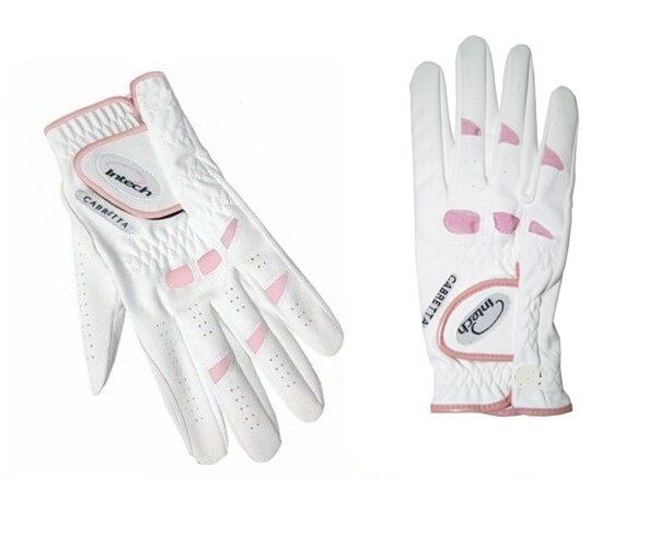 New Ladies Intech Cabretta Leather Golf Gloves For Right Handed Golfers 6 Pack Ebay