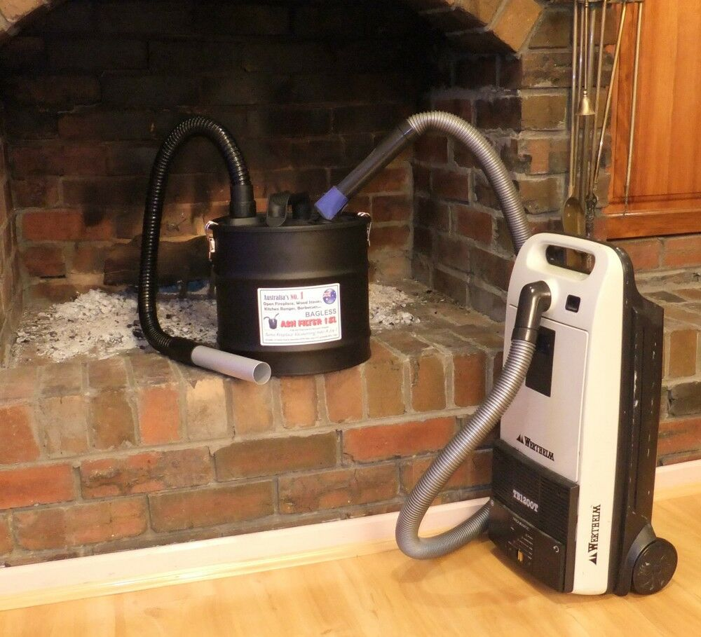Wood Fireplace Ash Filter Vacuum Cleaner Attachmnet Ebay