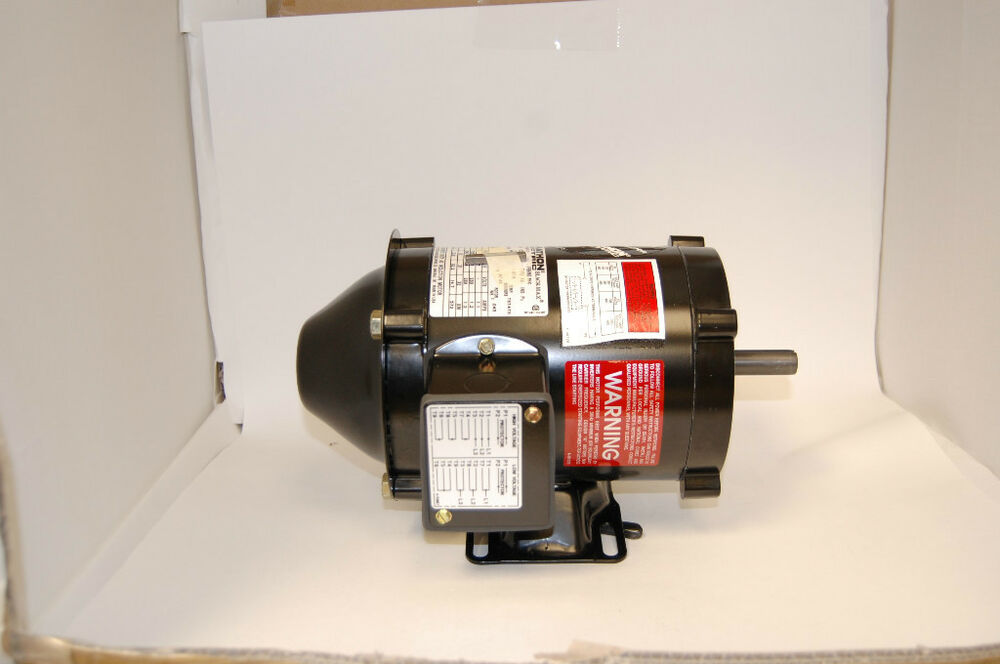 Marathon electric ac motor inverter duty ebay for Marathon black max motors