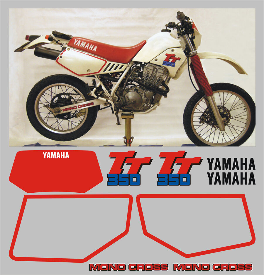 adesivi yamaha tt 350 1998 adesivi adhesives stickers. Black Bedroom Furniture Sets. Home Design Ideas
