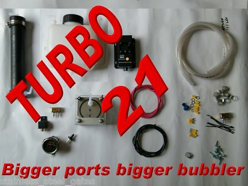 aaa turbo unit hho 21 plate dry cell complete starter kit with koh ebay. Black Bedroom Furniture Sets. Home Design Ideas