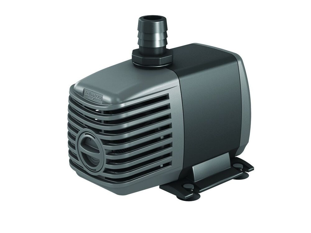 Active aqua 400 gph submersible water pump aquarium for Best rated pond pumps