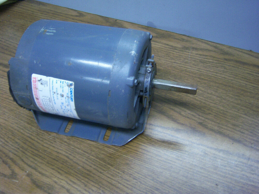 1 2hp century a o smith electric motor frj56z 8 150505 q1 for Abc electric motor repair