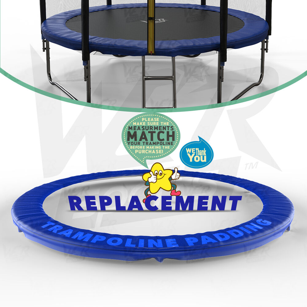 10 12 14 15 Trampoline Replacement Pad Pading Safety Net: 8FT 10FT 12FT 14 Replacement Trampoline Safety Spring