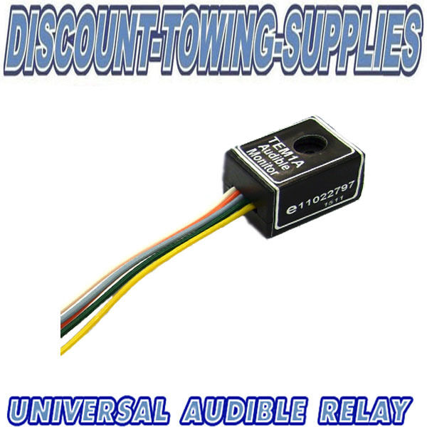 Universal Towbar Towing Electric Audible Buzzer Warning Relay For Indicators
