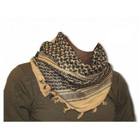 img-BRITISH ARMY DESERT BEIGE TAN SAND ARAB SHEMAGH SCARF Survival 100% Cotton