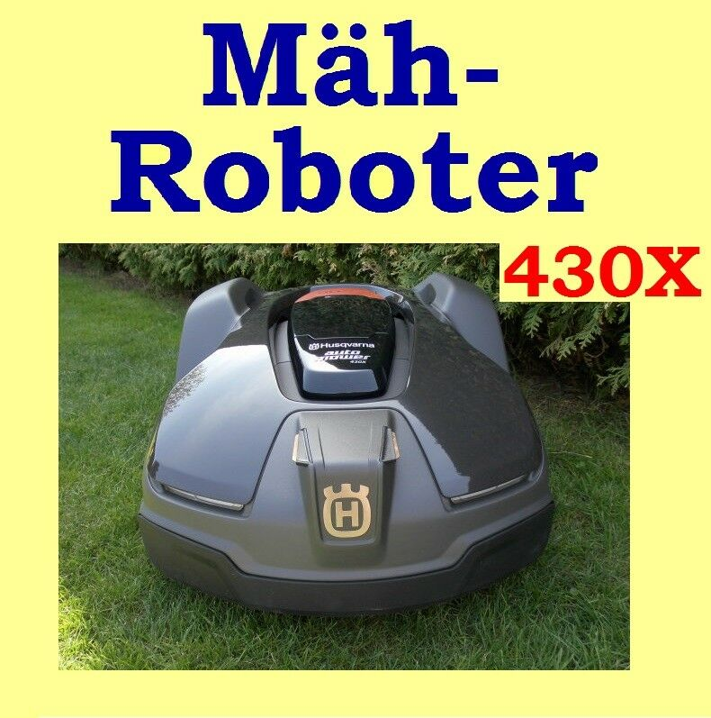 rasenroboter husqvarna automower 430x m hroboter neuware ebay. Black Bedroom Furniture Sets. Home Design Ideas