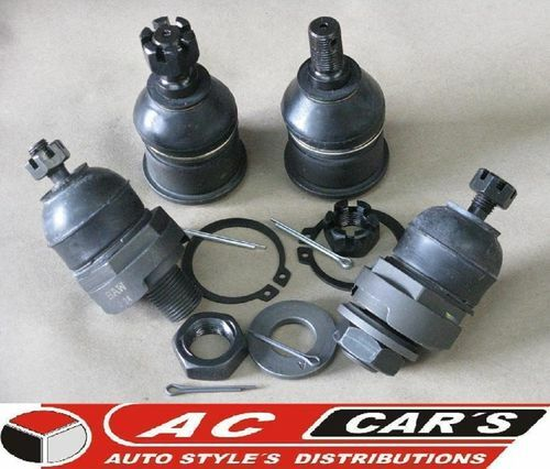 Honda Prelude 1998 Professional Ball Joint: 4 FRONT Upper Lower Ball Joint Set HONDA PRELUDE 92-96