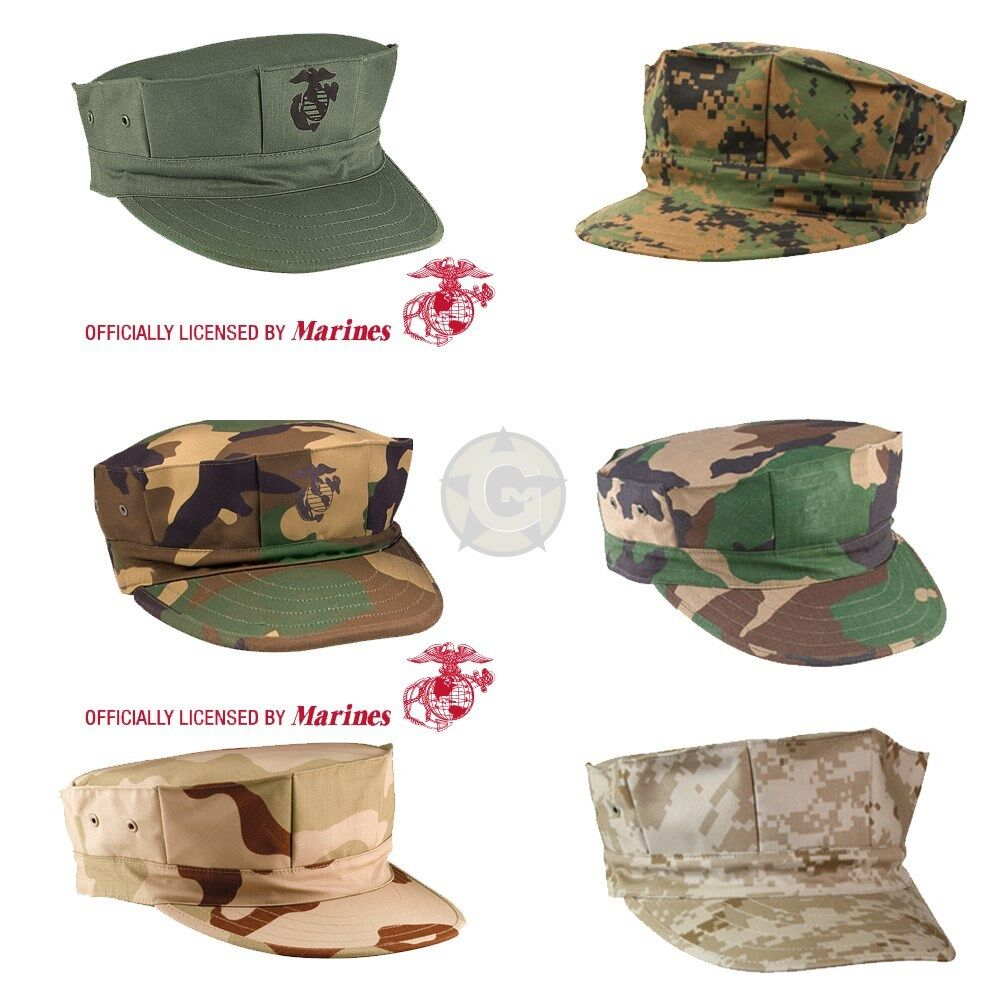 Marine Corps Fatigue Cap USMC 8 Point Cover MARPAT