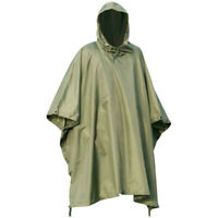 LADIES WATERPROOF WINDPROOF PONCHO olive hiking equestrian horse riding jacket