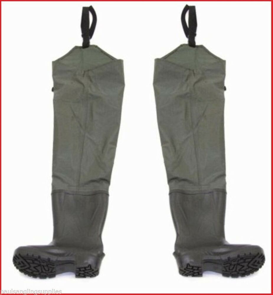 Waterline heavy duty thigh hip fishing waders for fly for Fly fishing waders