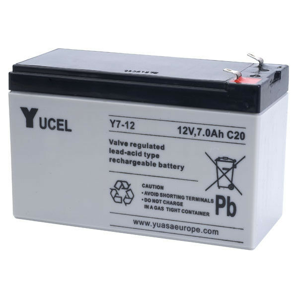 np7 12 12v 7ah yuasa yucelllead acid rechargeable battery y7 12 ebay. Black Bedroom Furniture Sets. Home Design Ideas