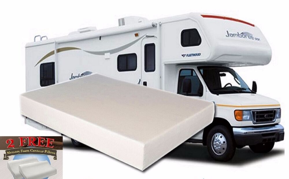 Excellent  Classic Memory Foam Mattress For RV Trailer Camper 60X75x8  EBay