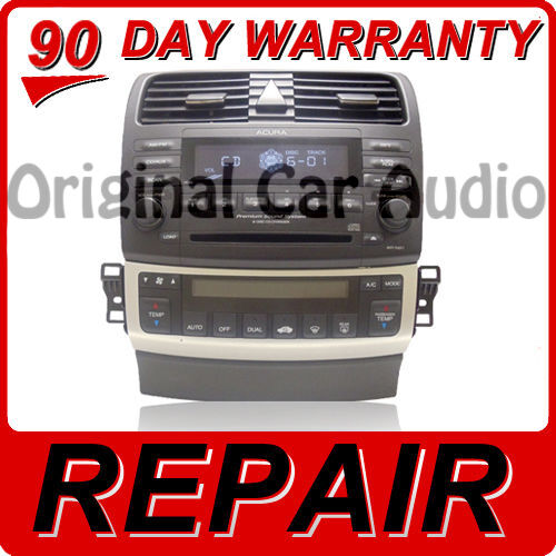 REPAIR ONLY 04 05 06 07 Acura TSX Radio Stereo Receiver 6