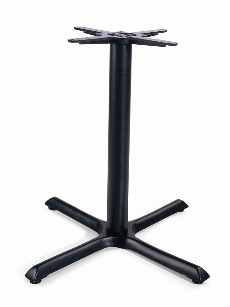 Metal table base for restaurant cast iron black ebay - Table base metal ...