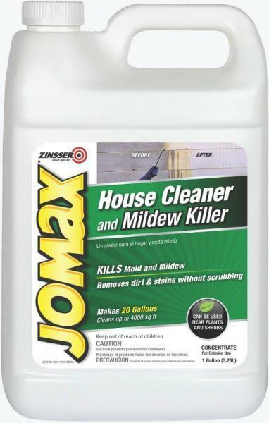 New Jomax 60101 Outdoor Gallon Mildew Remover House Siding
