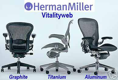 NEW Herman Miller Aeron Highly Adjustable Home Office Chair Lumbar Pad Size C