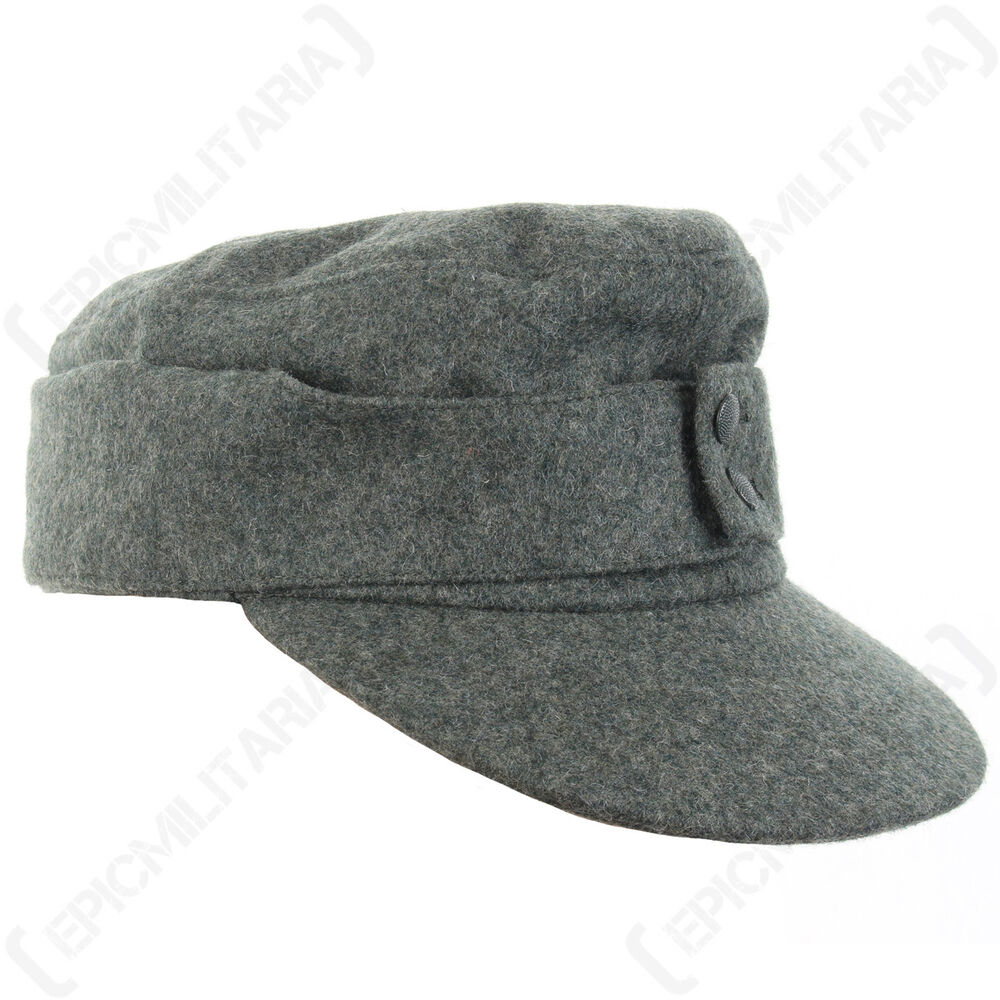 GERMAN ARMY M43 HEER FIELD/SKI CAP - WW2 Repro All Sizes ...