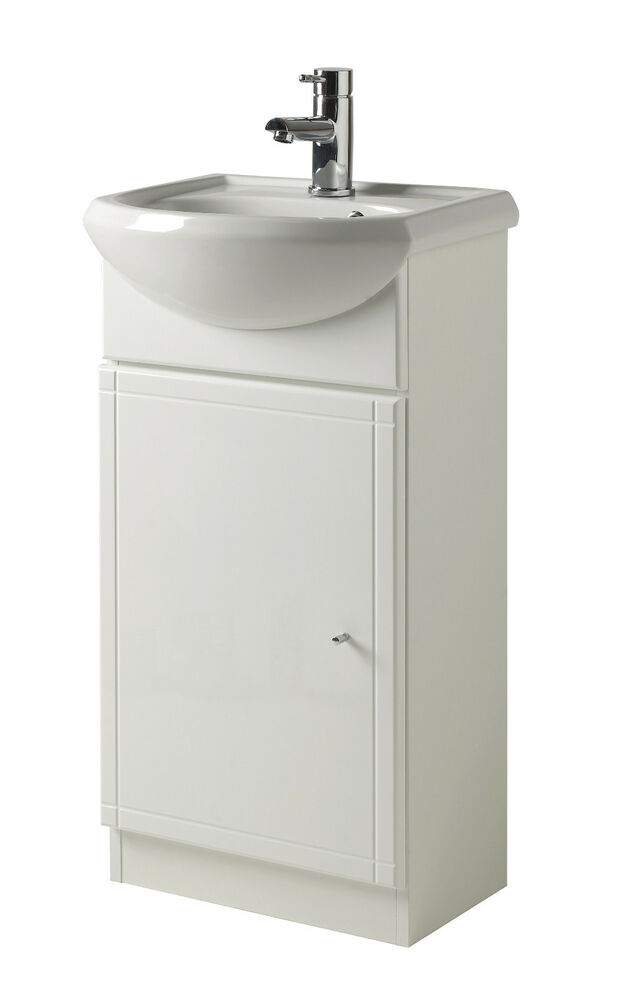 white gloss bathroom unit focus bathroom vanity unit w sink high gloss 21543