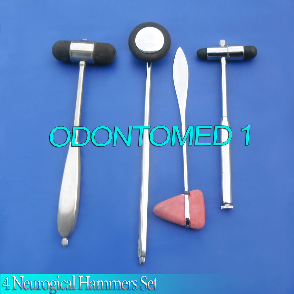 4 Neurogical Hammers Set Chiropractic Physical Therapy Ebay