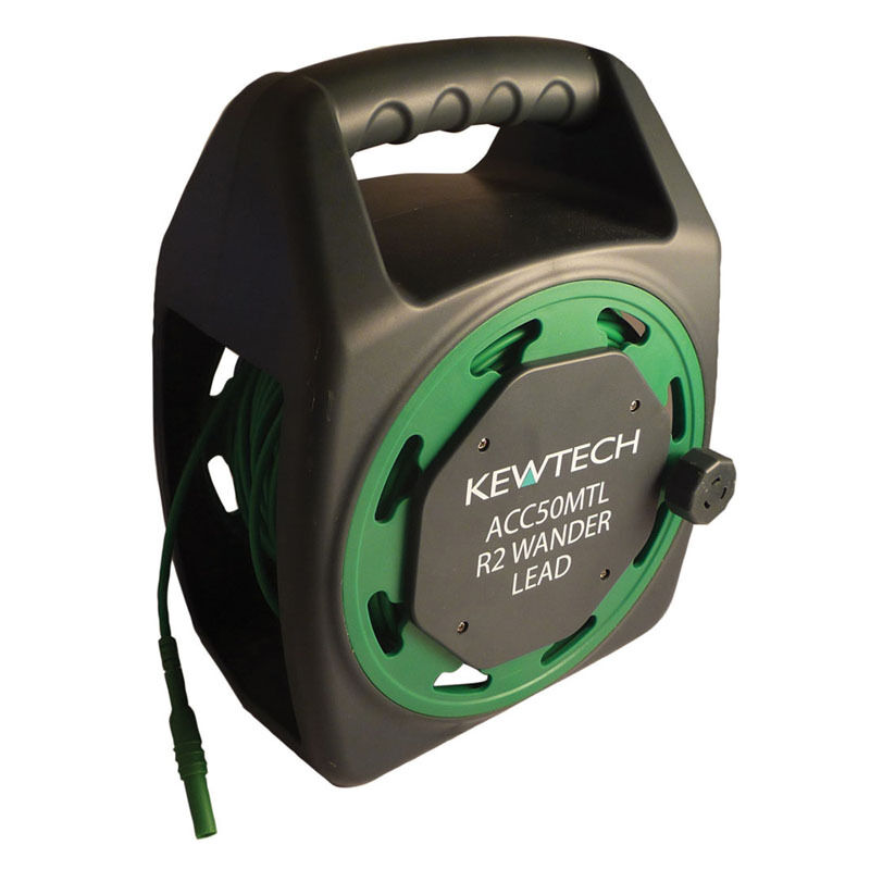 Extension Lead Test And Tag : Kewtech acc mtl metre test lead extension reel ebay