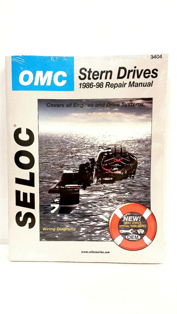 seloc 3404 omc cobra engine  outdrive repair service manual seloc manuals seloc manuals free download