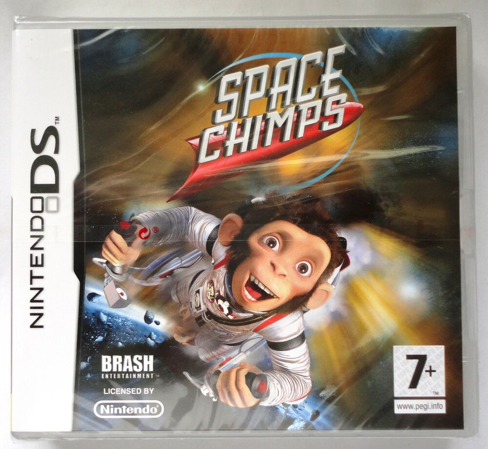 SPACE CHIMPS DS LITE/DSi GAME RARE Brand New & Sealed UK