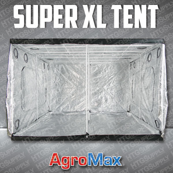 AGROMAX SUPER EXTRA LARGE GROW TENT HYDRO ROOM MYLAR HYDROPONICS 10 X 10 FEET : extra large grow tents - memphite.com