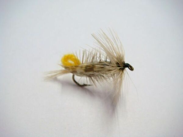 5x7 cm peau CHEVREUIL CREME montage mouche sedge mosca roe deer fly tying skin
