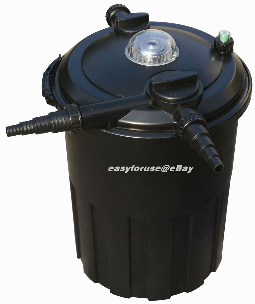 Fish pond filtration system house of fishery lovers for Koi pond filter system