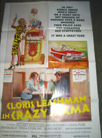 CRAZY MAMA / ORIGINAL U.S. ONE-SHEET MOVIE POSTER (CLORIS LEACHMAN)