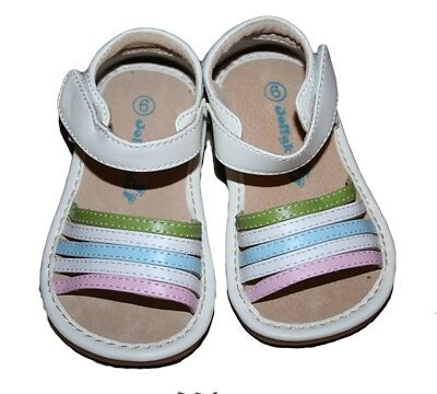 Kids' Shoe Sizing Help Download our size chart. Finding the right shoes for babies and children is often a struggle. Especially when they outgrow everything in the blink of an eye!