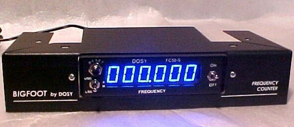 Cb Frequency Counter : Dosy fc s big foot bf ssb am frequency freq counter