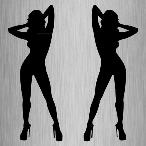 EDITH: Hot sexy girl silhouette