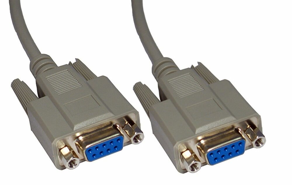 Rs232 Serial Null Modem Cable Db9 Female To Db9f Rs 232