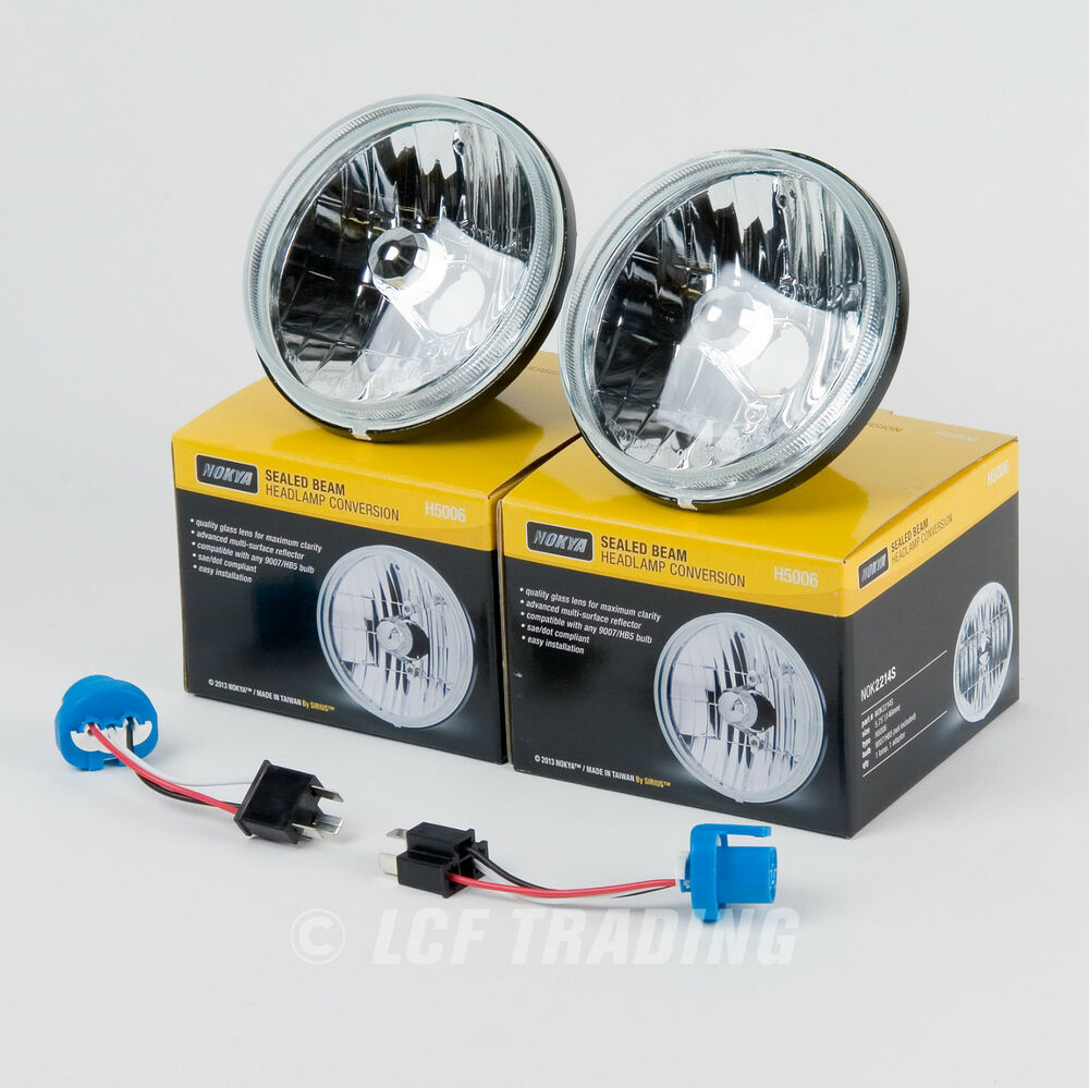 5 3 4 Quot Round Sealed Beam Headlamp Conversion Without Bulbs