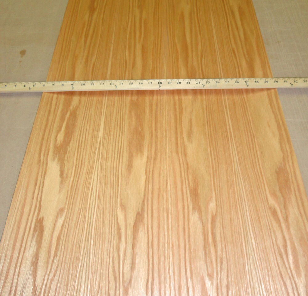 Red oak prefinished wood veneer quot with psa peel