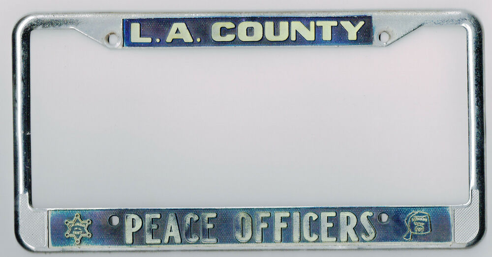 Los Angeles California Peace Officers Sheriff Police
