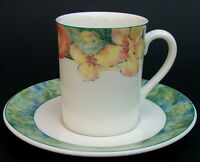 Marks & Spencer 1st Quality Millbrook Pattern Coffee Cups & Saucers in VGC