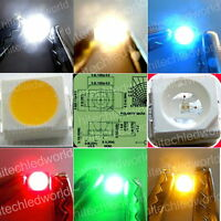 3528 PLCC-2 SMD SMT Power Top LED Lights White,Warm White,Red,Blue,Green,Amber