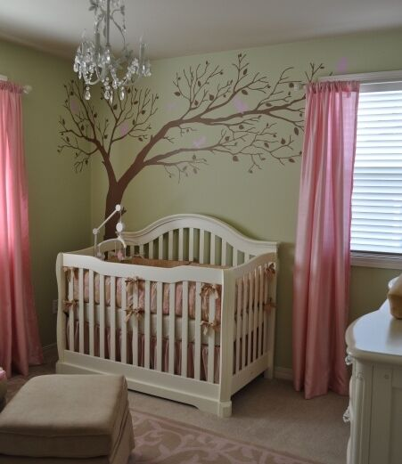 Custom Large Tree Wall Art Home Childs Nursery Home