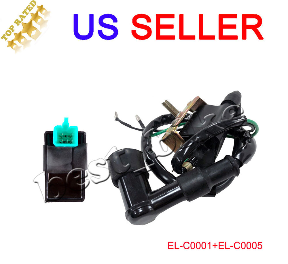 Chinese Atv Quad 4 Wire Ignition Key Switch 49cc 50cc 70cc 90cc 100cc