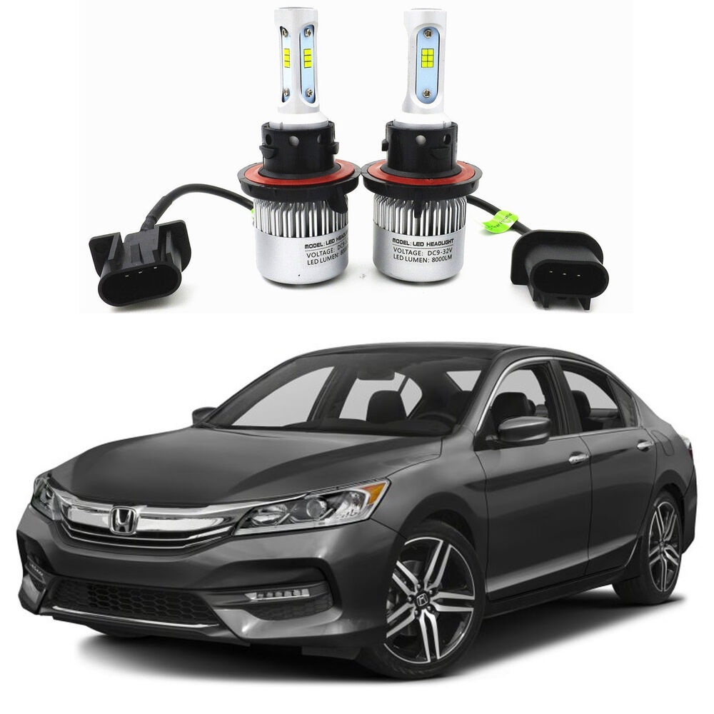 honda accord 2 door coupe blue 12v led interior light bulb package for 2003 2007 ebay. Black Bedroom Furniture Sets. Home Design Ideas